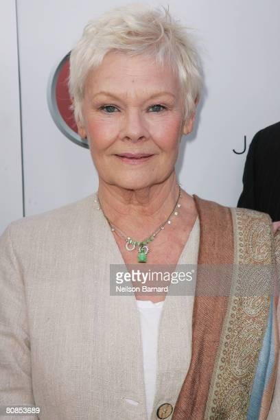 Actress Dame Judi Dench attends the launch party for BritWeek held at the British Consul General's Official Residence on April 24 2008 in Los Angeles...