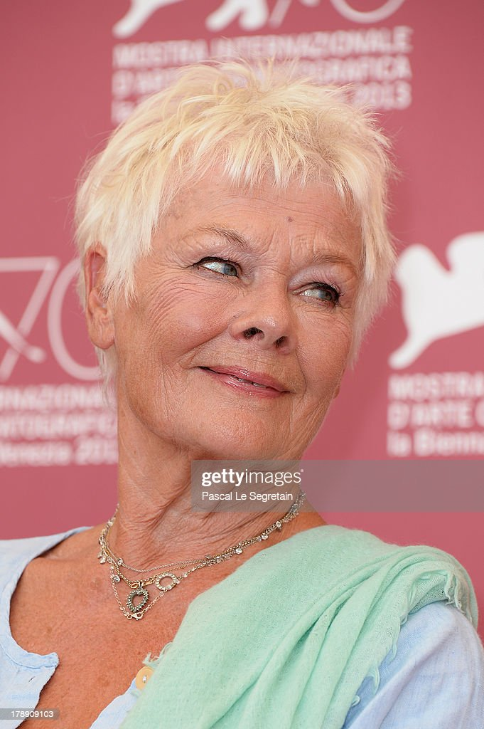 Actress Dame Judi Dench attends the 'Philomena' Photocall during the 70th Venice International Film - actress-dame-judi-dench-attends-the-philomena-photocall-during-the-picture-id178909103