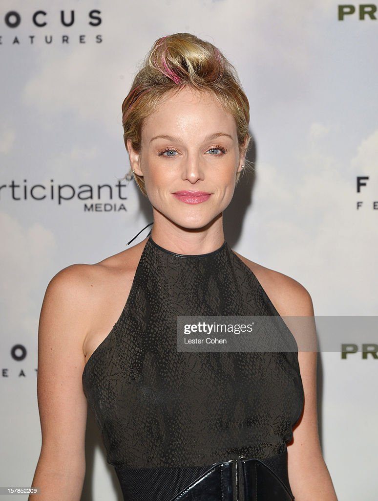 Actress Dana Daurey attends the ''Promised Land' Los Angeles premiere at Directors Guild Of America on December 6, 2012 in Los Angeles, California.