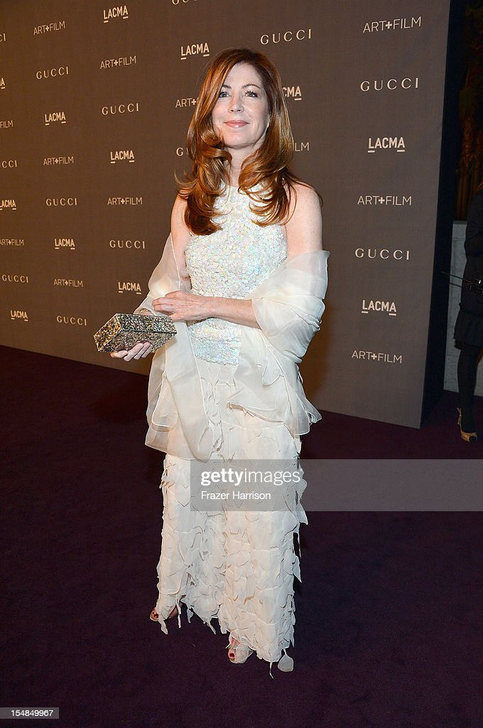 Actress Dana Delany arrives at LACMA 2012 Art + Film Gala Honoring Ed Ruscha and Stanley Kubrick presented by Gucci at LACMA on October 27, 2012 in Los Angeles, California.