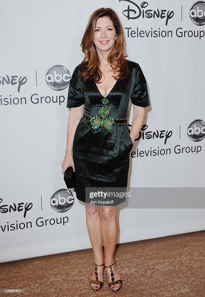 Actress Dana Delany arrives at the 2012 Disney and ABC TCA Summer Press Tour at the Beverly Hilton Hotel on July 27 2012 in Beverly Hills California
