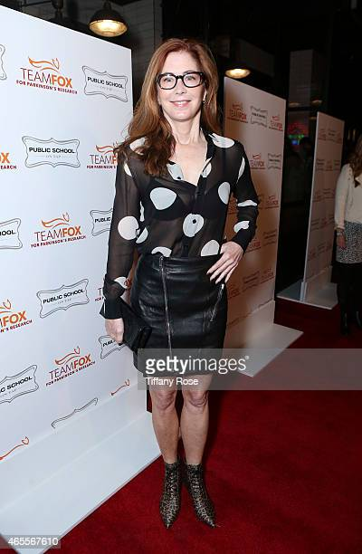 Actress Dana Delany attends Raising The Bar To End Parkinson's at Public School 818 on March 7 2015 in Sherman Oaks California