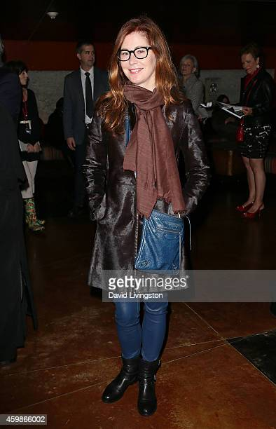 Actress Dana Delany attends the Center Theatre Group's opening night of 'Luna Gale' at the Kirk Douglas Theatre on December 2 2014 in Culver City...