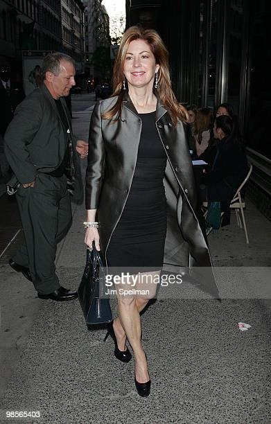 Actress Dana Delany attends the Cinema Society screening of 'Multiple Sarcasms' at AMC Loews 19th Street East 6 theater on April 19 2010 in New York...