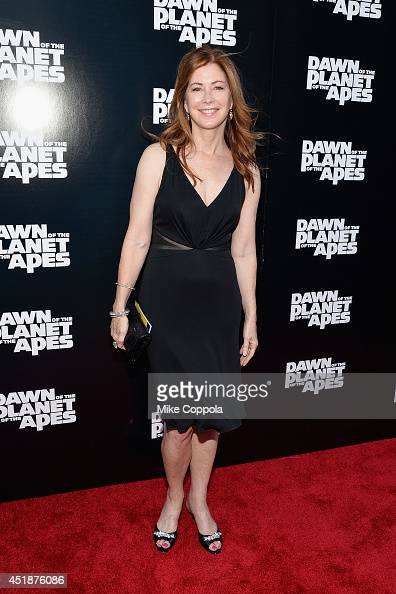 Actress Dana Delany attends the 'Dawn Of The Planets Of The Apes' premiere at Williamsburg Cinemas on July 8 2014 in New York City