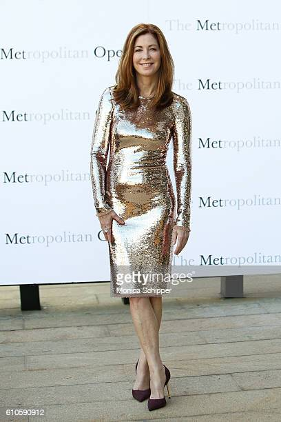 Actress Dana Delany attends the Met Opera 20162017 Season Opening Performance Of 'Tristan Und Isolde' at The Metropolitan Opera House on September 26...