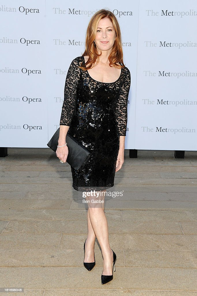 Actress Dana Delany attends the Metropolitan Opera season opening production of 'Eugene Onegin' at The Metropolitan Opera House on September 23, 2013 in New York City.
