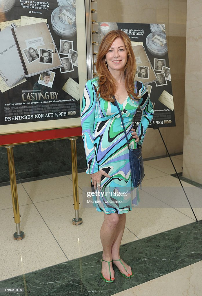 Actress Dana Delany attends the New York Premiere of HBO Documentary 'Casting By' at HBO Theater on July 29, 2013 in New York City.