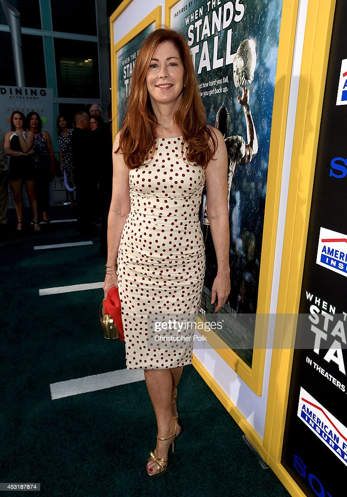 Actress <a gi-track='captionPersonalityLinkClicked' href=/galleries/search?phrase=Dana+Delany&family=editorial&specificpeople=238900 ng-click='$event.stopPropagation()'>Dana Delany</a> attends the premiere of Tri Star Pictures' 'When The Game Stands Tall' at ArcLight Cinemas on August 4, 2014 in Hollywood, California.