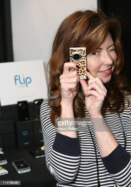 Actress Dana Delany attends the The Lipton Green VitaliTEA Gift Lounge Backstage at the Nokia Theatre Celebrating the 61st Primetime Emmy Awards...