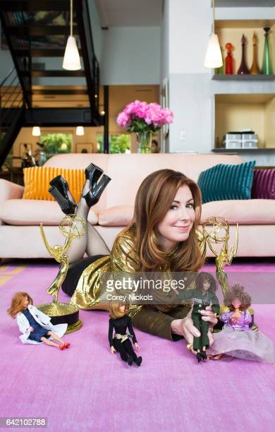 Actress Dana Delany is photographed for Emmy Magazine on June 8 2015 in Santa Monica California
