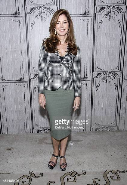 Actress Dana Delany speaks on the AOL BUILD Speaker Series Present 'Hand Of God' at AOL Studios In New York on August 18 2015 in New York City