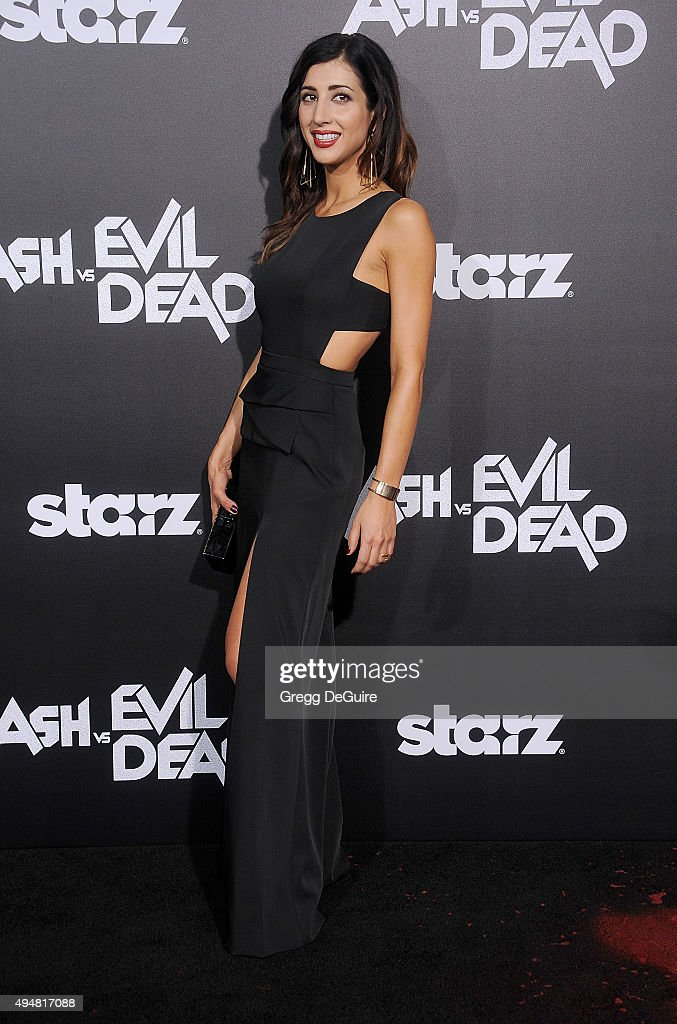 "Premiere Of STARZ's ""Ash Vs Evil Dead"" - Arrivals"
