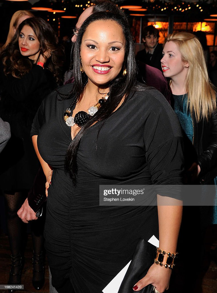 Actress Dana Gourrier attends the after party for a screening 'Django Unchained' hosted by The Weinstein Company With The Hollywood Reporter, Samsung Galaxy And The Cinema Society at The High Line Room in The Standard Hotel on December 11, 2012 in New York City.