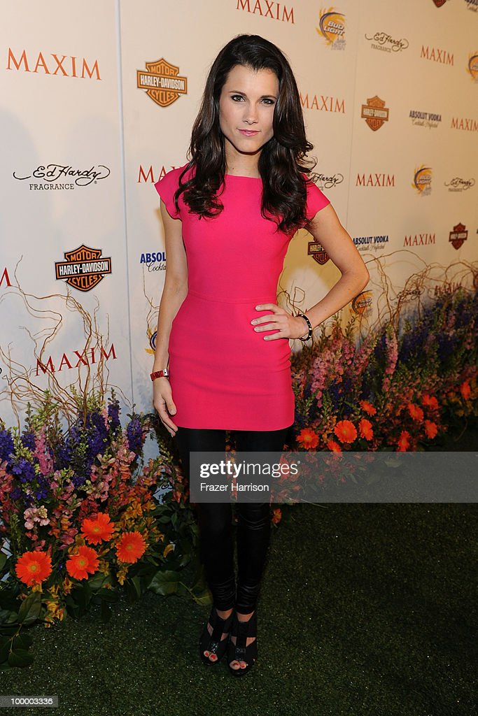 Actress Dana Workman arrives at the 11th annual Maxim Hot 100 Party with Harley-Davidson, ABSOLUT VODKA, Ed Hardy Fragrances, and ROGAINE held at Paramount Studios on May 19, 2010 in Los Angeles, California.