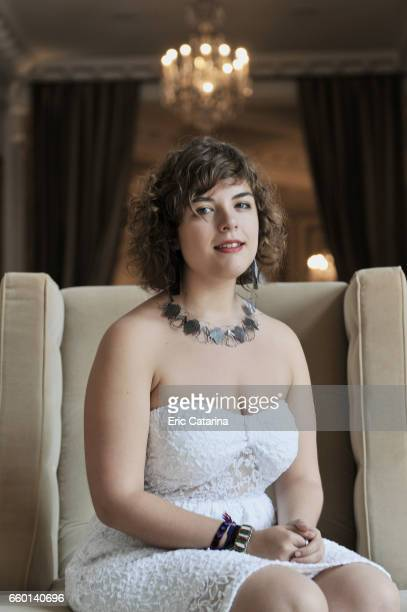 Actress Danae Reynaud Romero is photographed for Self Assignment on September 25 2009 in San Sebastian Spain