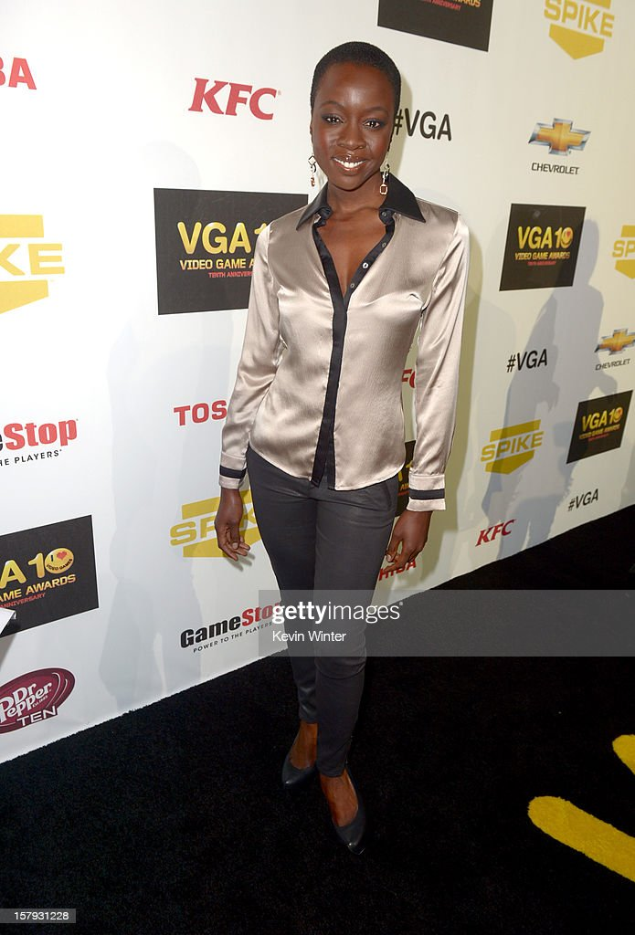 Actress Danai Gurira arrives at Spike TV's 10th annual Video Game Awards at Sony Pictures Studios on December 7, 2012 in Culver City, California.