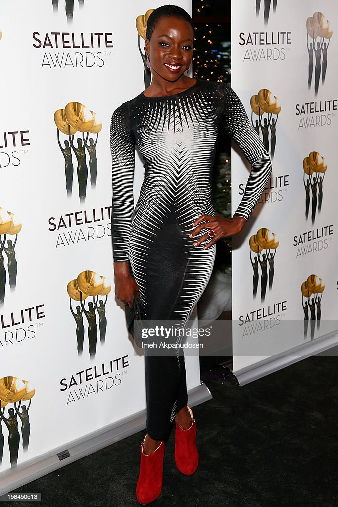 Actress Danai Gurira attends International Press Academy's 17th Annual Satellite Awards at InterContinental Hotel on December 16, 2012 in Century City, California.