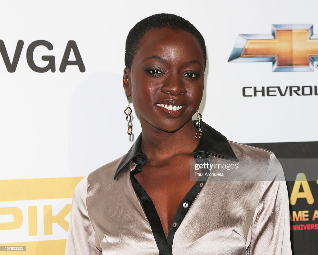 Actress Danai Gurira attends Spike TV's 10th Annual Video Game Awards at Sony Pictures Studios on December 7, 2012 in Culver City, California.