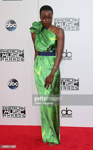 Actress Danai Gurira attends the 42nd Annual American Music Awards at the Nokia Theatre LA Live on November 23 2014 in Los Angeles California