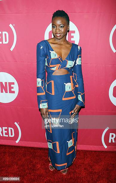 Actress Danai Gurira attends the ONE And 's 'It Always Seems Impossible Until It Is Done' at Carnegie Hall on December 1 2015 in New York City