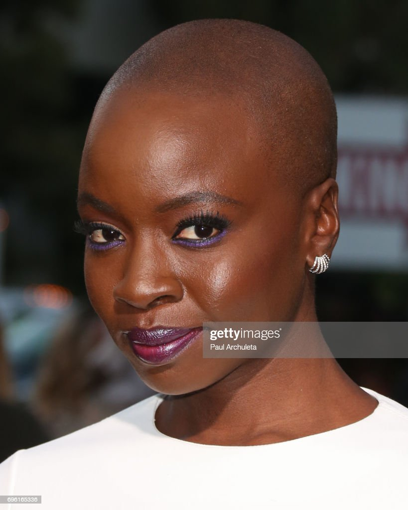 Actress Danai Gurira attends the premiere of Lionsgate's 'All Eyez On Me' on June 14, 2017 in Los Angeles, California.