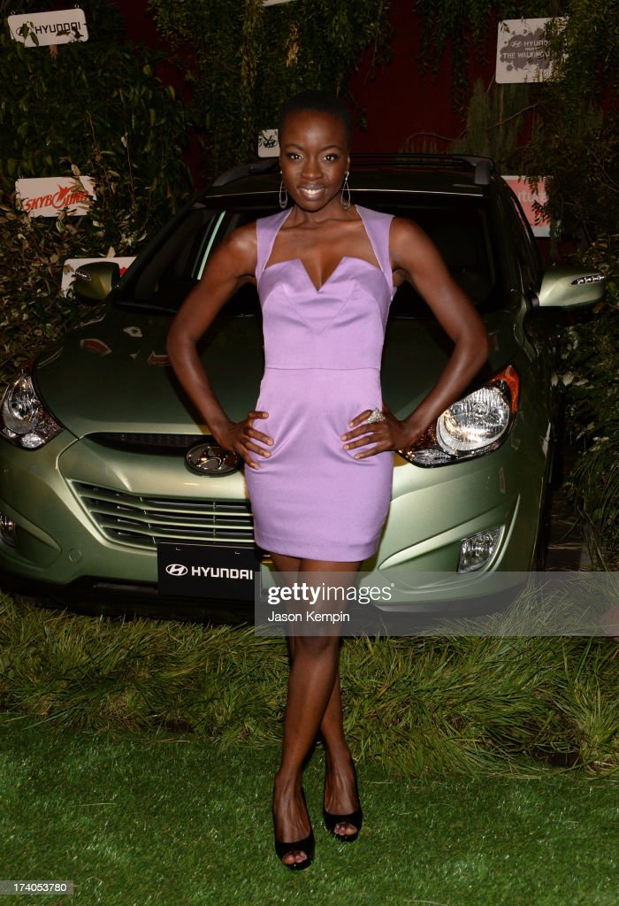 Actress Danai Gurira attends 'The Walking Dead' 10th Anniversary Celebration Event during Comic-Con 2013 on July 19, 2013 in San Diego, California.