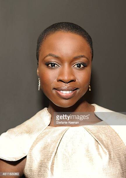 Actress Danai Gurira is photographed at the Marie Claire Celebrates May Cover Stars Event for May Cover Stars Event on April 8 2014 in West Hollywood...