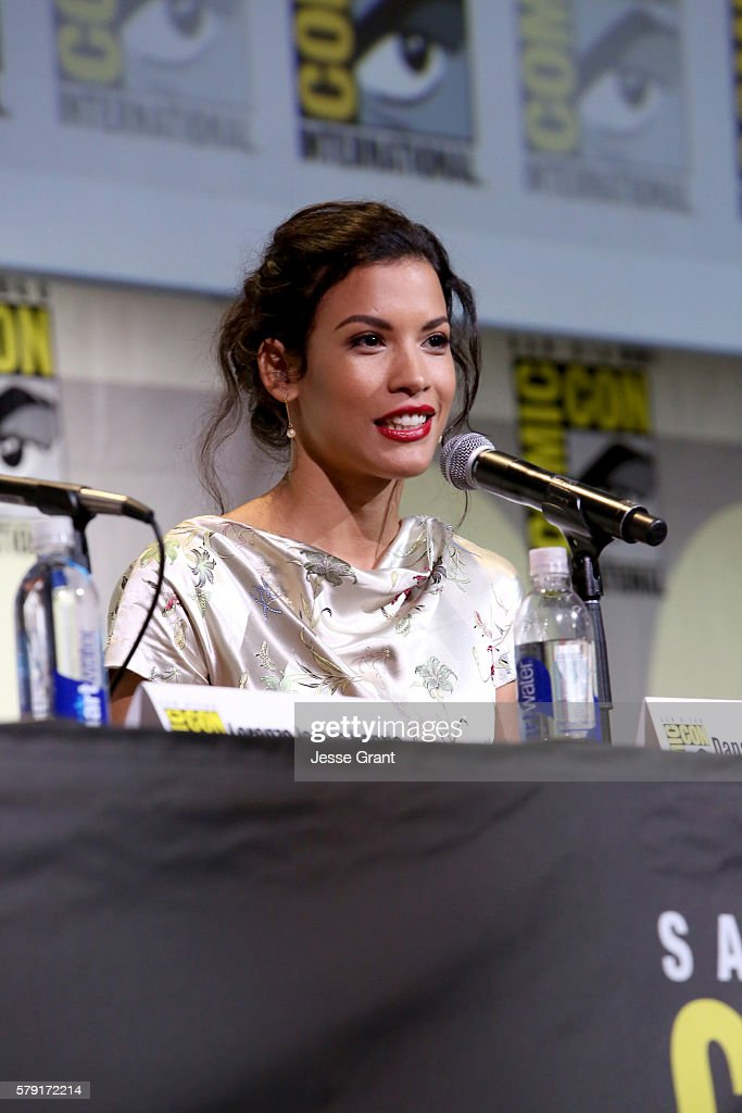 Actress Danay García attends AMC's 'Fear The Walking Dead' Panel during Comic-Con International 2016 at San Diego Convention Center on July 22, 2016 in San Diego, California.