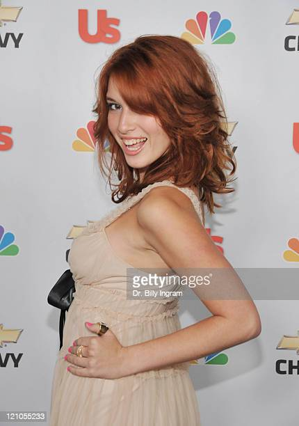 Actress Dani Thorne arrives at NBC's 'My Own Worst Enemy' Premiere Party Sponsored by Us Weekly at the Craft Restaurant on October 4 2008 Los Angeles...