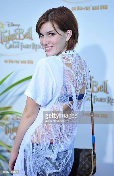 Actress Dani Thorne attends PicnicInThePark Premiere Of 'Tinkerbell' at La Cienega Park on August 28 2010 in Beverly Hills California