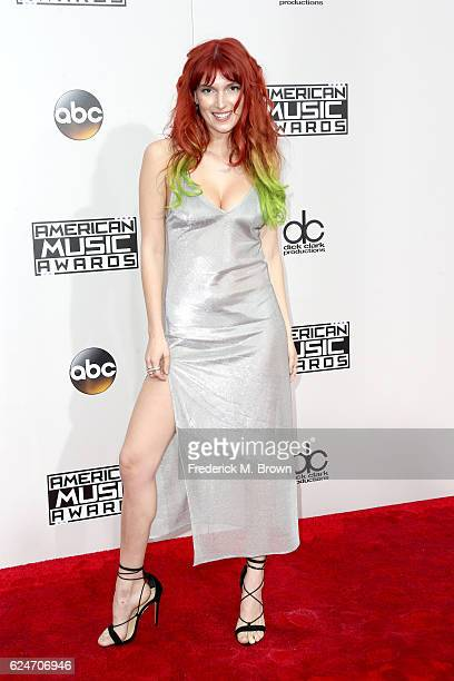 Actress Dani Thorne attends the 2016 American Music Awards at Microsoft Theater on November 20 2016 in Los Angeles California