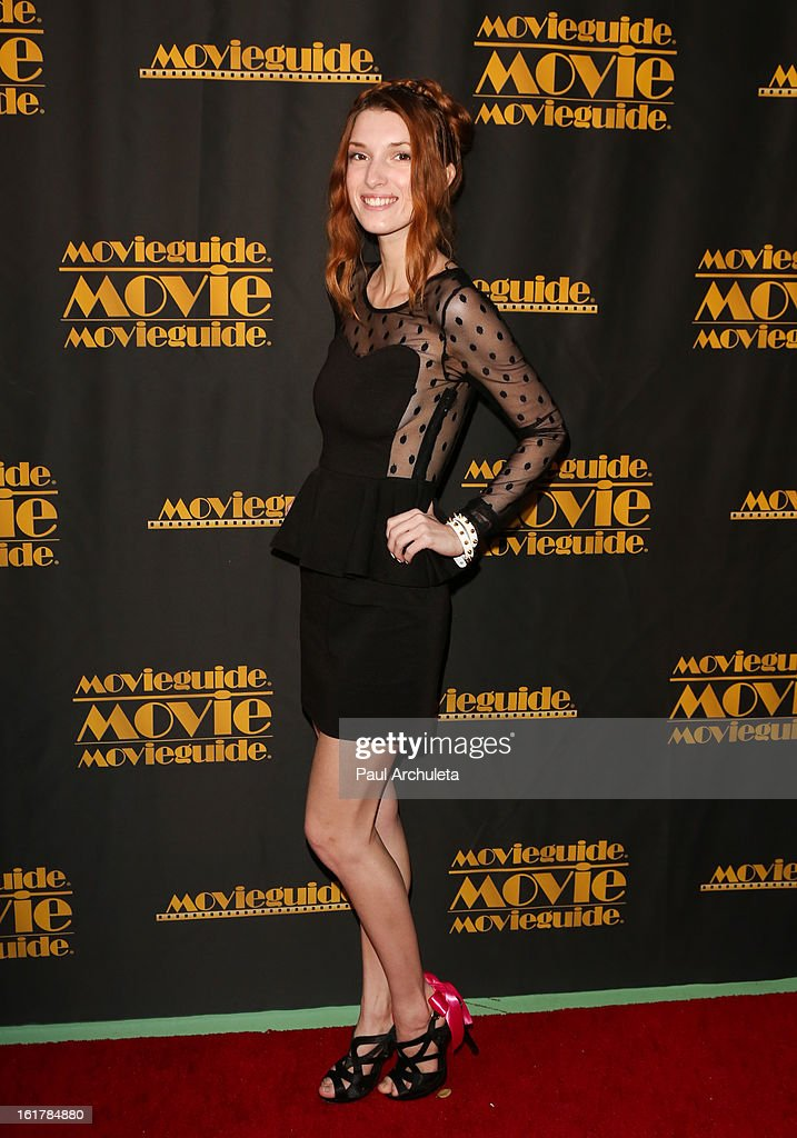 Actress <a gi-track='captionPersonalityLinkClicked' href=/galleries/search?phrase=Dani+Thorne&family=editorial&specificpeople=5553373 ng-click='$event.stopPropagation()'>Dani Thorne</a> attends the 21st annual Movieguide Awards at Hilton Universal City on February 15, 2013 in Universal City, California.
