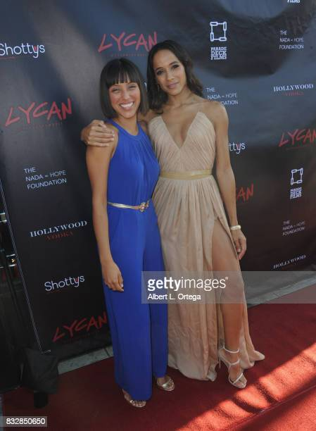 "Actress Dania Ramirez and Yolie arrive for the Premiere Of Parade Deck's ""Lycan"" held at Laemmle's Ahrya Fine Arts Theatre on August 15 2017 in..."