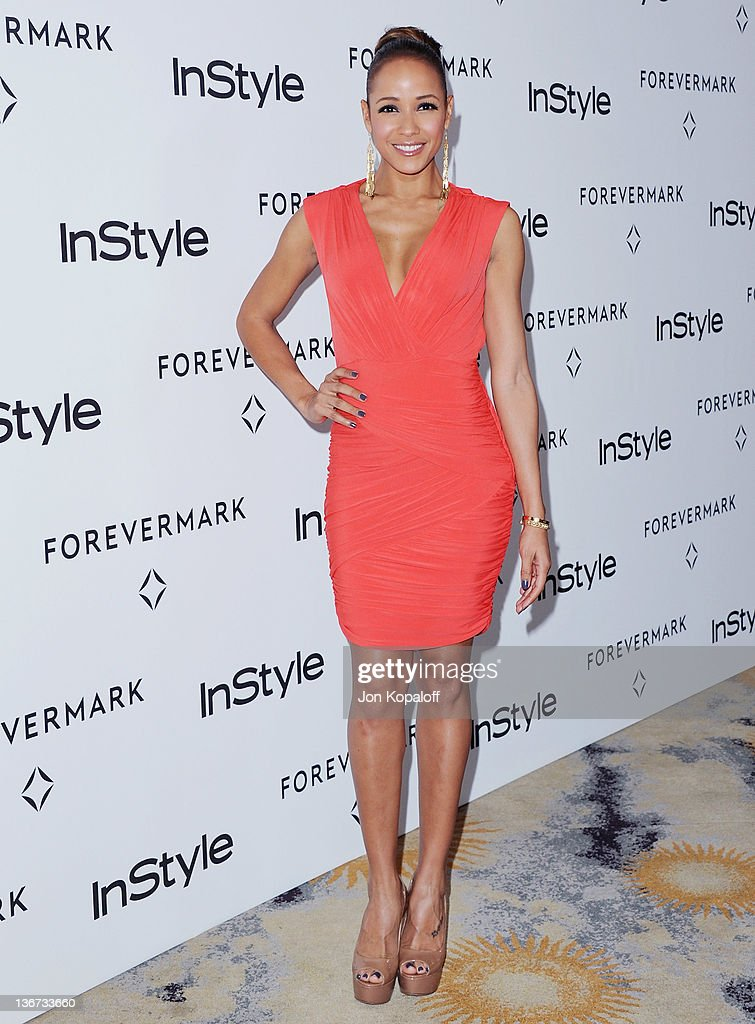 Actress Dania Ramirez arrives at Forevermark And InStyle Golden Globes Event 'A Promise Of Beauty And Brilliance' at the Beverly Hills Hotel on January 10, 2012 in Beverly Hills, California.
