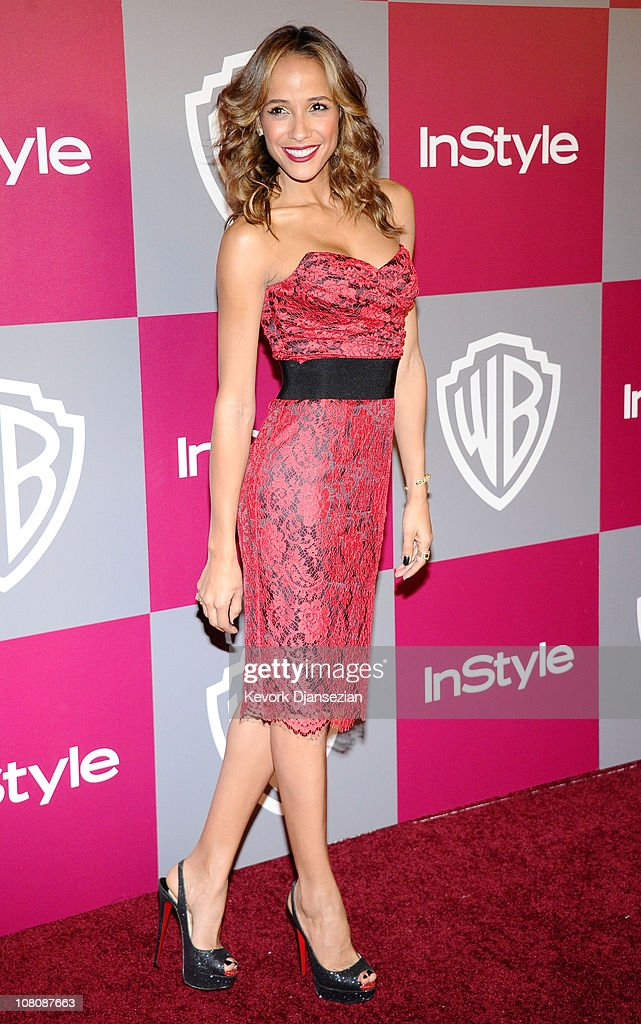 Actress Dania Ramirez arrives at the 2011 InStyle And Warner Bros. 68th Annual Golden Globe Awards post-party held at The Beverly Hilton hotel on January 16, 2011 in Beverly Hills, California.