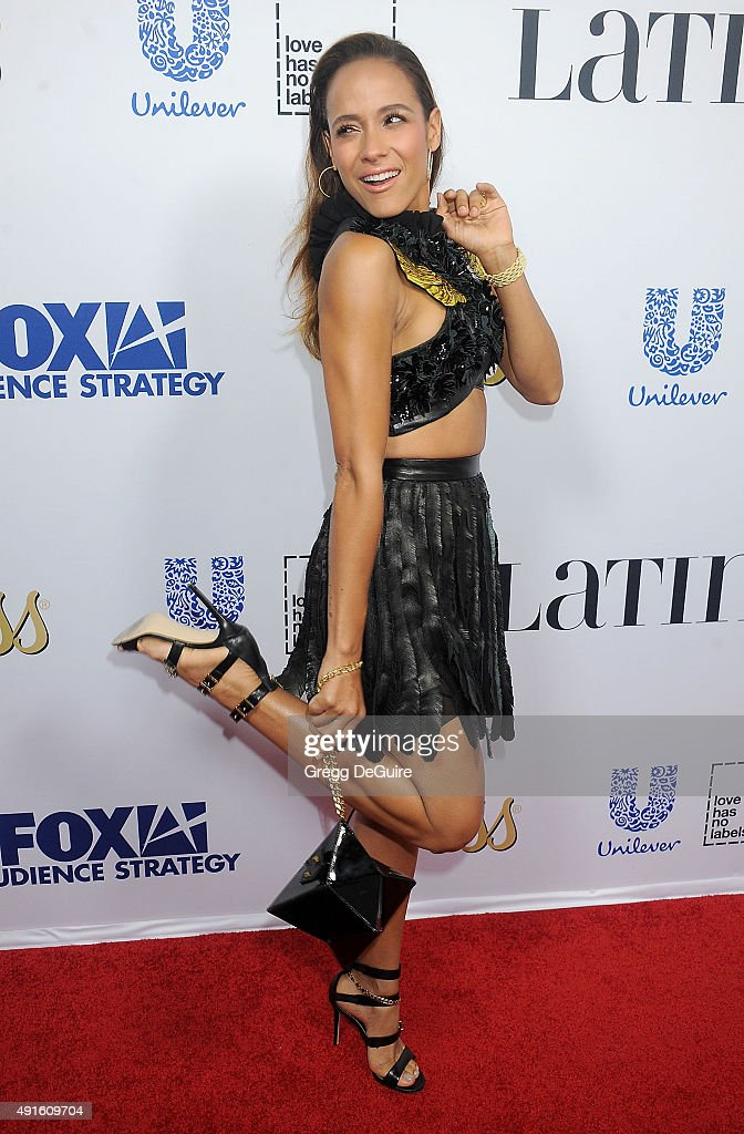 Actress Dania Ramirez arrives at the Latina 'Hot List' Party at The London West Hollywood on October 6, 2015 in West Hollywood, California.