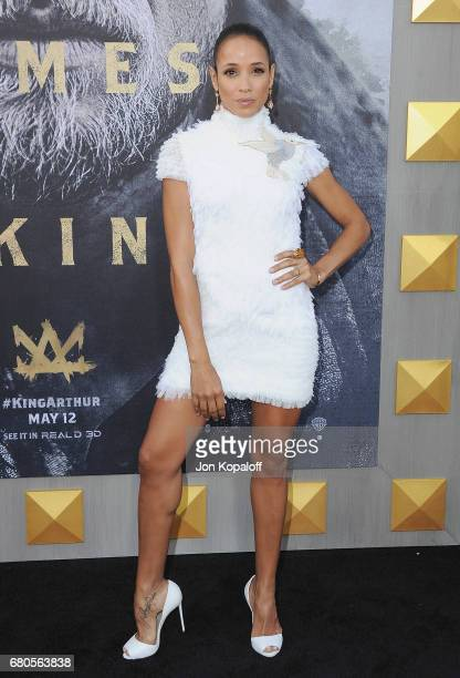 Actress Dania Ramirez arrives at the Los Angeles Premiere 'King Arthur Legend Of The Sword' at TCL Chinese Theatre on May 8 2017 in Hollywood...
