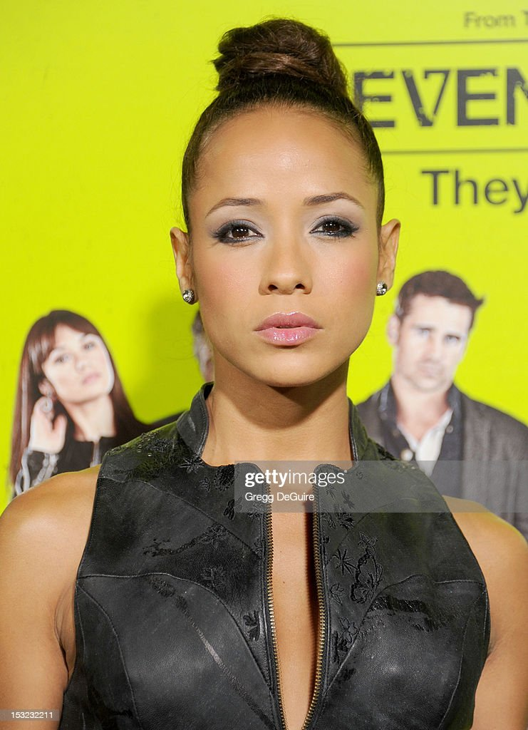 Actress Dania Ramirez arrives at the Los Angeles premiere of 'Seven Psychopaths' at Mann Bruin Theatre on October 1, 2012 in Westwood, California.