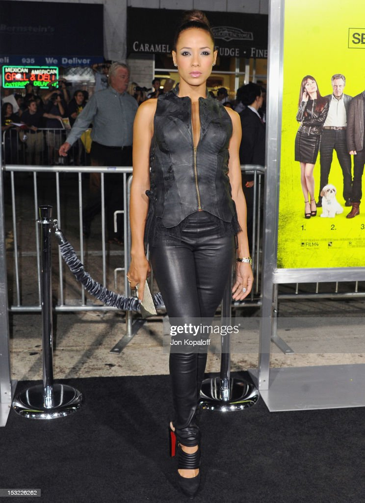 Actress Dania Ramirez arrives at the Los Angeles Premiere 'Seven Psychopaths' at Mann Bruin Theatre on October 1, 2012 in Westwood, California.