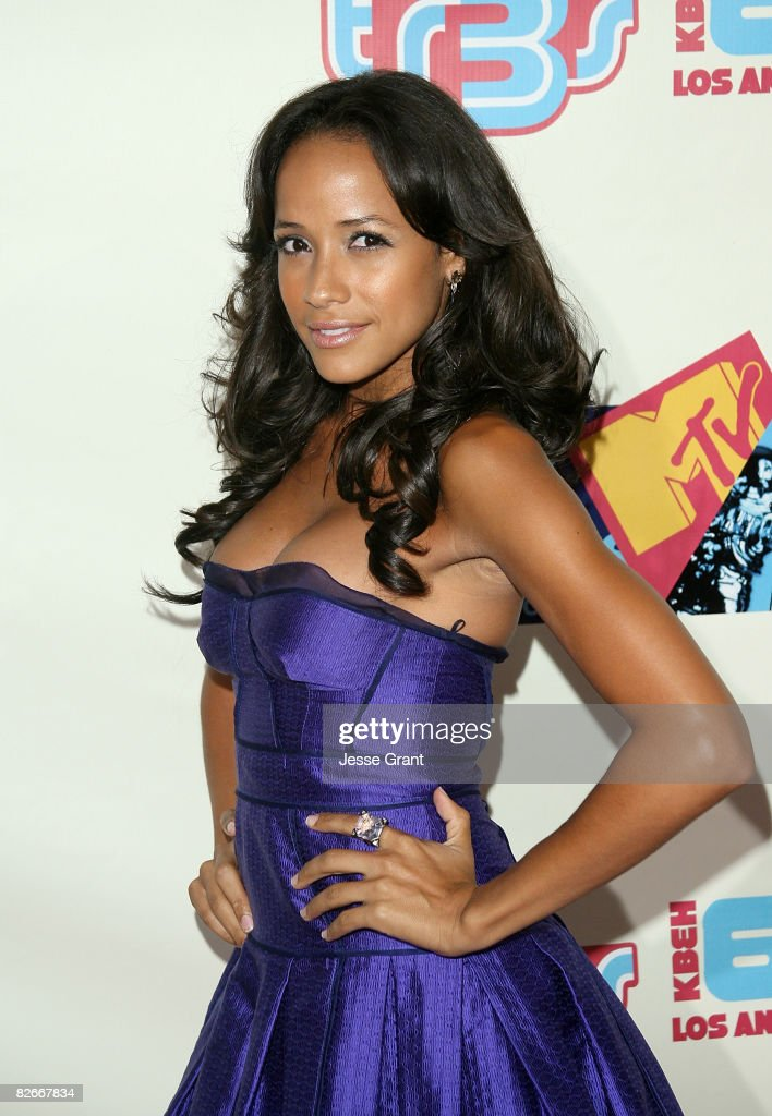Actress Dania Ramirez arrives at the MTV TR3s PreVMA Party held at Level 3 on September 4 2008 in Hollywood California