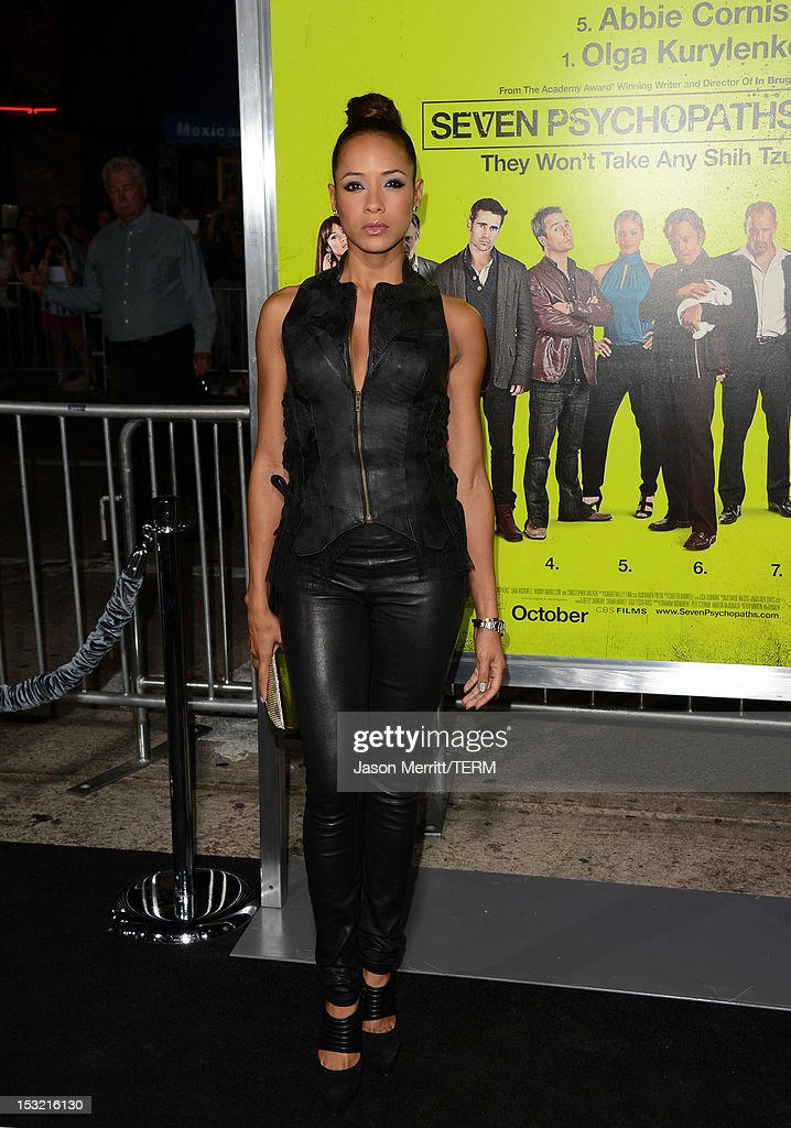 Actress Dania Ramirez arrives at the premiere of CBS Films' 'Seven Psychopaths' at Mann Bruin Theatre on October 1, 2012 in Westwood, California.