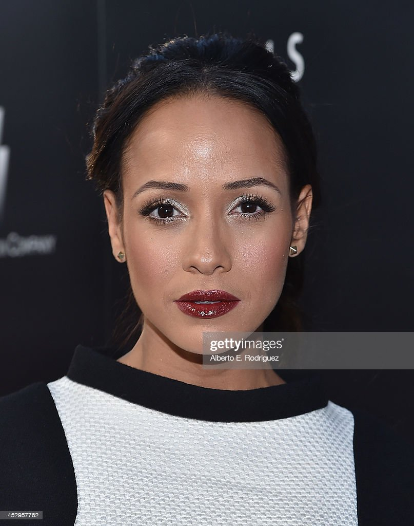 Actress <a gi-track='captionPersonalityLinkClicked' href=/galleries/search?phrase=Dania+Ramirez&family=editorial&specificpeople=213153 ng-click='$event.stopPropagation()'>Dania Ramirez</a> arrives to The Weinstein Company and Lexus Present Lexus Short Films at The Regal Cinemas L.A. Live on July 30, 2014 in Los Angeles, California.
