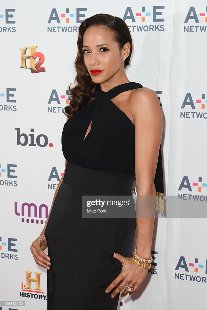 Actress Dania Ramirez attends A+E Networks 2013 Upfront at Lincoln Center on May 8, 2013 in New York City.