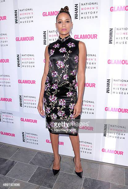 Actress Dania Ramirez attends National Women's History Museum's 4th Annual 'Women Making History' Brunch at Skirball Cultural Center on September 19...