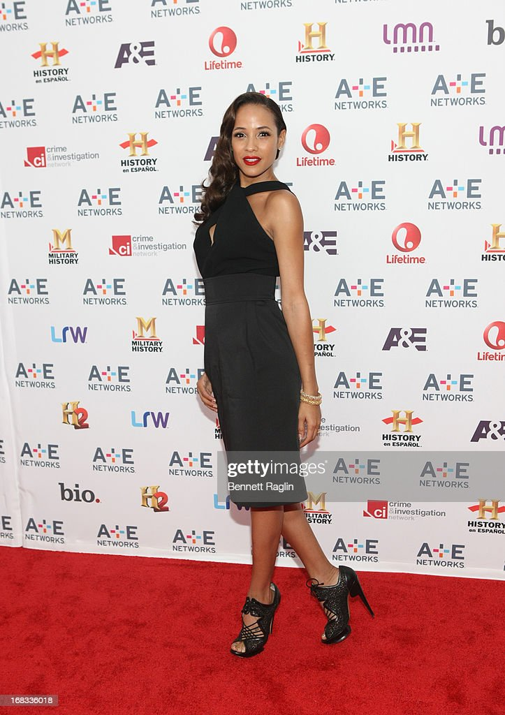 Actress Dania Ramirez attends the 2013 A+E Networks Upfront at Lincoln Center on May 8, 2013 in New York City.