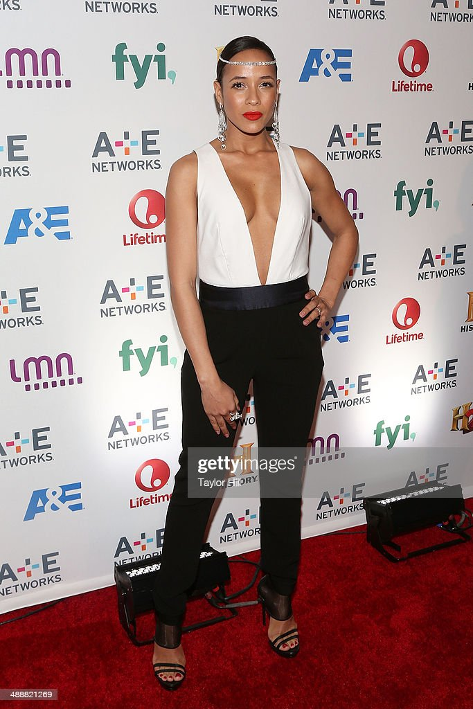 Actress <a gi-track='captionPersonalityLinkClicked' href=/galleries/search?phrase=Dania+Ramirez&family=editorial&specificpeople=213153 ng-click='$event.stopPropagation()'>Dania Ramirez</a> attends the 2014 A+E Network Upfronts at Park Avenue Armory on May 8, 2014 in New York City.