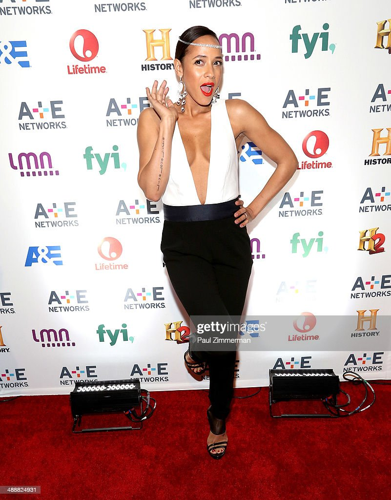 Actress <a gi-track='captionPersonalityLinkClicked' href=/galleries/search?phrase=Dania+Ramirez&family=editorial&specificpeople=213153 ng-click='$event.stopPropagation()'>Dania Ramirez</a> attends the 2014 A+E Networks Upfront at Park Avenue Armory on May 8, 2014 in New York City.