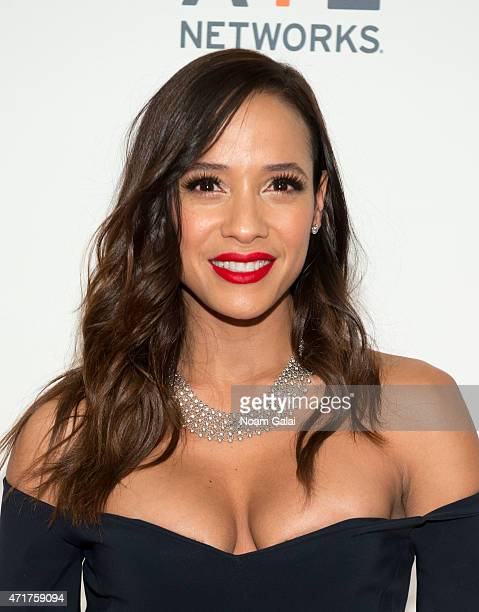 Actress Dania Ramirez attends the 2015 AE Network Upfront at Park Avenue Armory on April 30 2015 in New York City