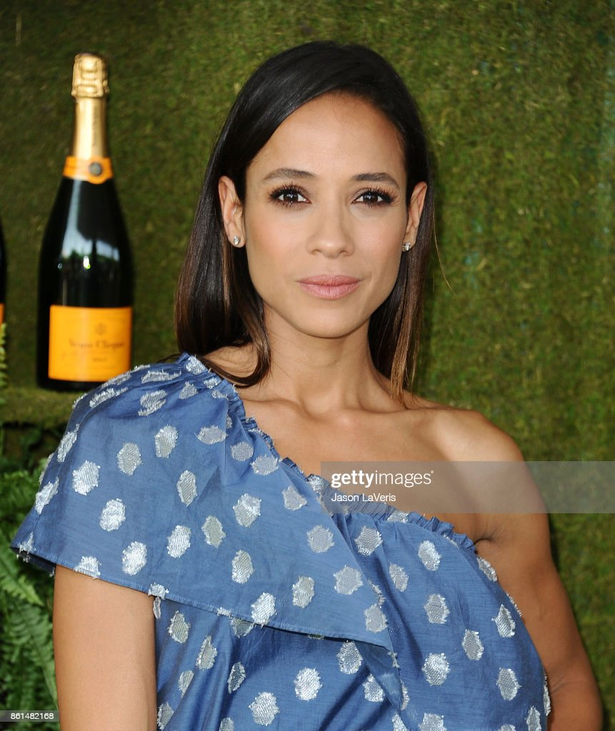 Actress Dania Ramirez attends the 8th annual Veuve Clicquot Polo Classic at Will Rogers State Historic Park on October 14, 2017 in Pacific Palisades, California.